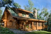 Фото 6 5 этапов строительства дома из оцилиндрованного бревна: проекты, цены и фото экологичного жилья