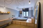 Фото 2 Кровать-подиум в интерьере: особенности размещения и обзор самых трендовых решений