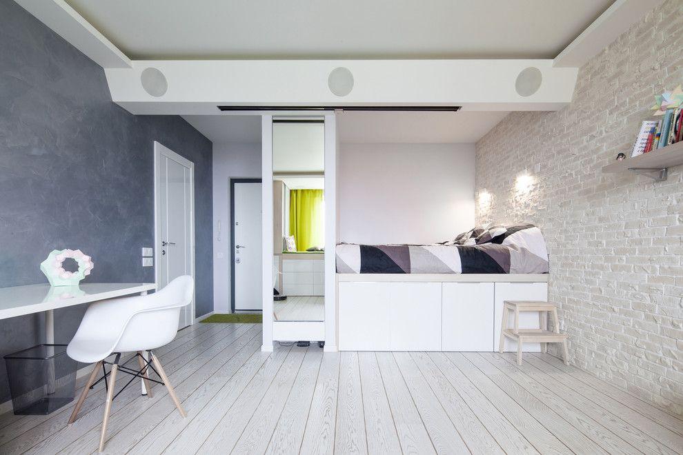 Квартира с подиумом дизайн интерьер