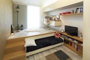 Фото 18 Кровать-подиум в интерьере: особенности размещения и обзор самых трендовых решений
