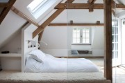 Фото 22 Кровать-подиум в интерьере: особенности размещения и обзор самых трендовых решений