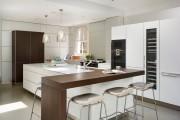 Фото 8 Дизайн кухни с барной стойкой: 40 трендов для современного и практичного интерьера