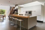 Фото 12 Дизайн кухни с барной стойкой: 40 трендов для современного и практичного интерьера