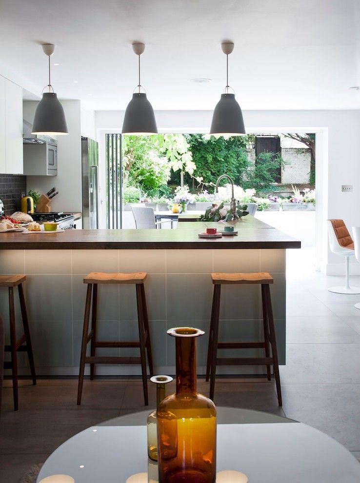 Светильники для барной стойки на кухне