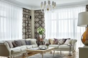 Фото 3 Нестареющая классика: 65+ элегантных вариантов мебели для гостиной в классическом стиле