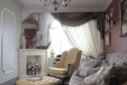 Фото 4 Нестареющая классика: 65+ элегантных вариантов мебели для гостиной в классическом стиле