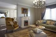 Фото 6 Нестареющая классика: 65+ элегантных вариантов мебели для гостиной в классическом стиле