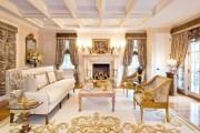 Фото 10 Нестареющая классика: 65+ элегантных вариантов мебели для гостиной в классическом стиле