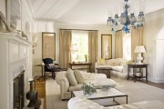 Фото 12 Нестареющая классика: 65+ элегантных вариантов мебели для гостиной в классическом стиле