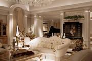 Фото 15 Нестареющая классика: 65+ элегантных вариантов мебели для гостиной в классическом стиле