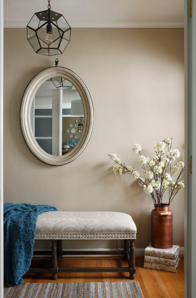 Даже простой старый бидон, окрашенный подходящей краской, подходит для стильного декора интерьера