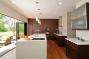 Фото 8 Натяжной потолок на кухне: можно ли делать и 70+ дизайнерских фотоидей  для глянцевого и матового финиша