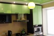 Фото 17 Натяжной потолок на кухне: можно ли делать и 70+ дизайнерских фотоидей  для глянцевого и матового финиша