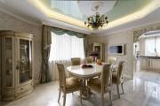 Фото 3 Натяжной потолок на кухне: можно ли делать и 70+ дизайнерских фотоидей  для глянцевого и матового финиша