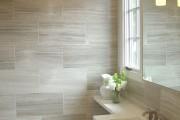 Фото 17 Кафель для ванной комнаты: мозаика, пэчворк и 50+ самых свежих дизайнерских трендов