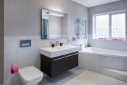 Фото 13 Кафель для ванной комнаты: мозаика, пэчворк и 50+ самых свежих дизайнерских трендов