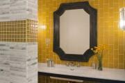 Фото 10 Кафель для ванной комнаты: мозаика, пэчворк и 50+ самых свежих дизайнерских трендов