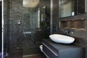 Фото 19 Кафель для ванной комнаты: мозаика, пэчворк и 50+ самых свежих дизайнерских трендов