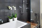 Фото 22 Кафель для ванной комнаты: мозаика, пэчворк и 50+ самых свежих дизайнерских трендов