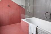 Фото 2 Кафель для ванной комнаты: мозаика, пэчворк и 50+ самых свежих дизайнерских трендов