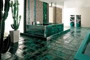 Фото 1 Кафель для ванной комнаты: мозаика, пэчворк и 50+ самых свежих дизайнерских трендов