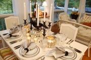 Фото 7 Сервировка праздничного стола: тонкости этикета и 95 вариантов безукоризненного декора