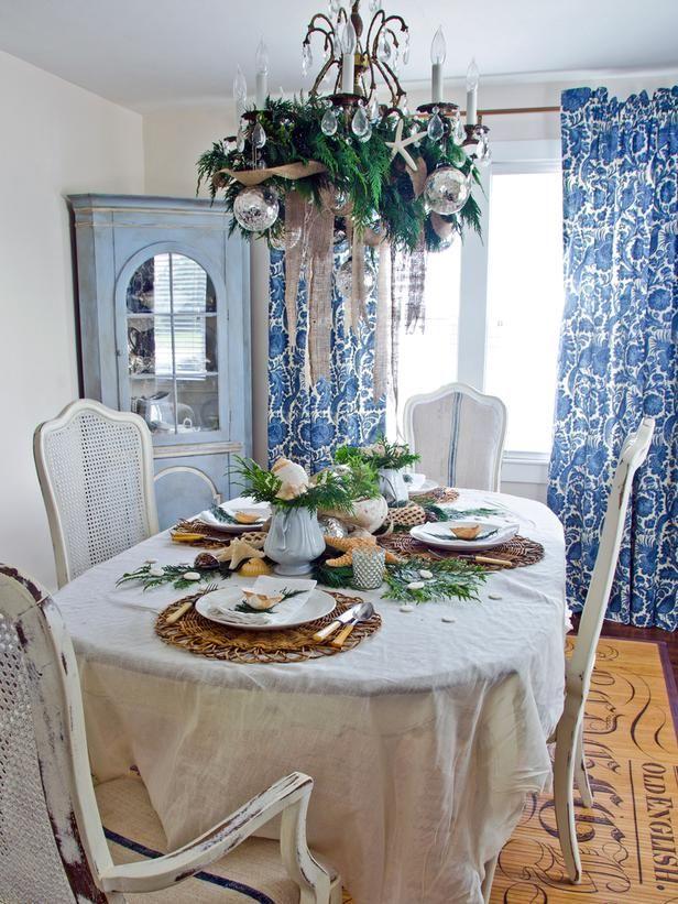 Обеденная сервировка стола для небольшой семьи