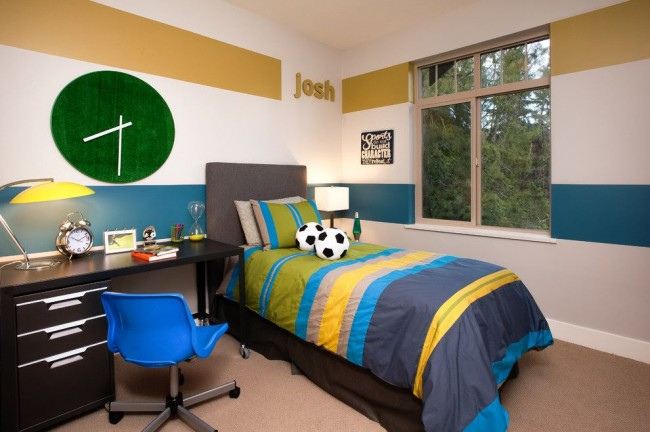 Уютная и удобная спальня для подростка