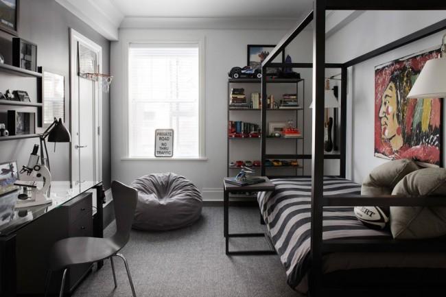 Стильная и современная спальня для подростка