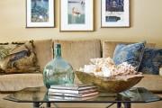 Фото 5 Стеклянный журнальный столик: 85 универсальных дизайнерских вариантов для любого интерьера