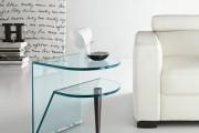Фото 34 Стеклянный журнальный столик: 100+ универсальных дизайнерских вариантов для любого интерьера