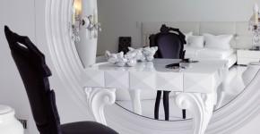 Шикарные реализации туалетного столика с зеркалом в интерьере (фото) фото