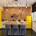 Кухня желтого цвета: 45 идей для солнечного дизайна интерьера фото