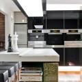 Черно-белая кухня: 40+ фото как оформить минималистичный интерьер фото