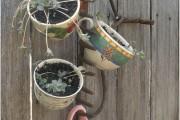 Фото 15 Декор из старой посуды: 55 вдохновляющих идей, которые оживят ваш интерьер