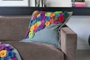 Фото 11 Декоративные подушки своими руками: как задать настроение любому интерьеру? (100 избранных фотоидей и мастер-классы)