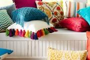 Фото 15 Декоративные подушки своими руками: как задать настроение любому интерьеру? (100 избранных фотоидей и мастер-классы)