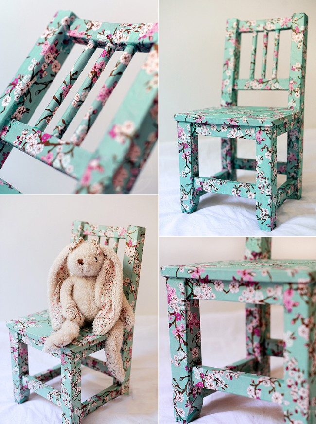 Декорирование детской мебели в стиле прованс