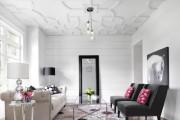 Фото 4 Дизайн черно-белой гостиной: 40 вдохновляющих идей элегантного монохрома