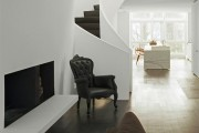 Фото 21 Дизайн черно-белой гостиной: 40 вдохновляющих идей элегантного монохрома