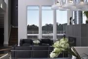 Фото 6 Дизайн черно-белой гостиной: 40 вдохновляющих идей элегантного монохрома