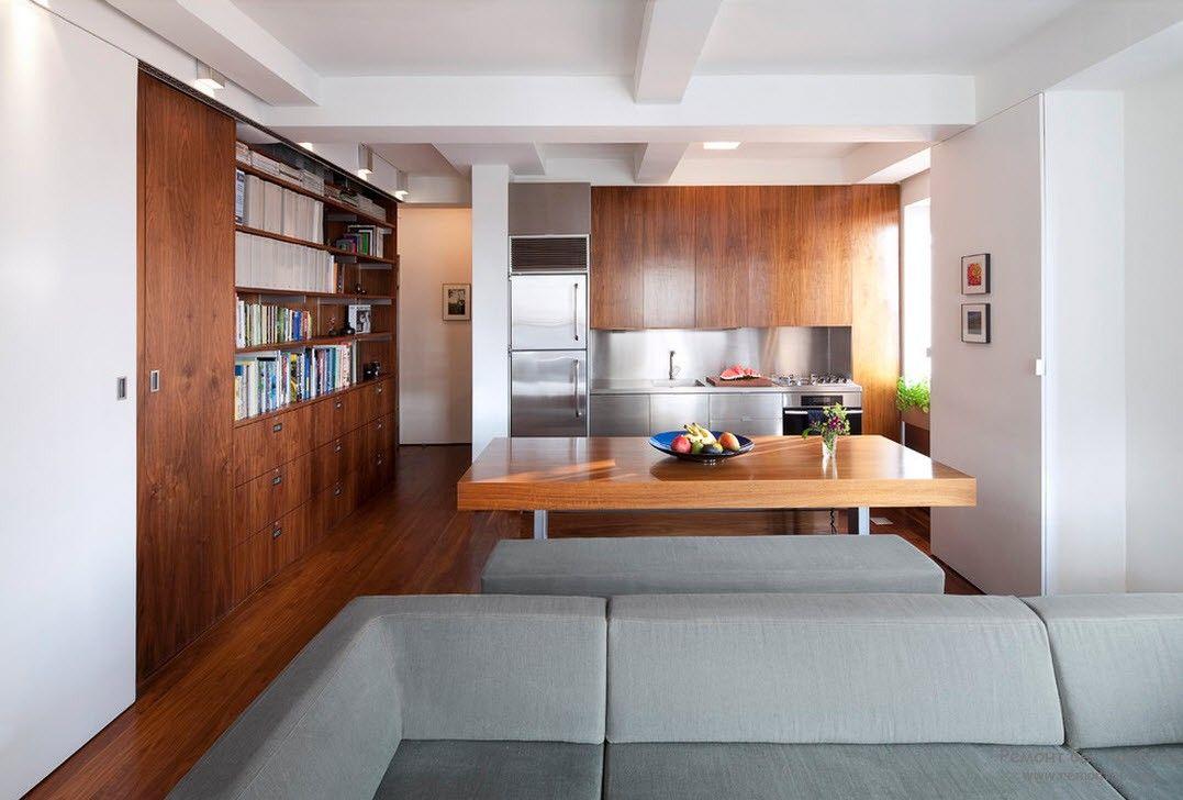 Интерьер гостиной, совмещенной с кухней (50 фото) лучшие иде.