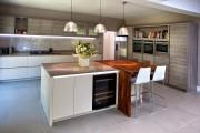 Фото 17 Дизайн кухни-студии: 85 лучших реализаций и тонкости студийной планировки