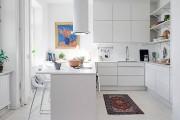 Фото 15 Дизайн кухни белого цвета: 40+ фото свежих и лаконичных дизайнерских проектов