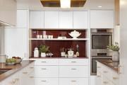 Фото 7 Дизайн кухни белого цвета: 65+ фото свежих и лаконичных дизайнерских проектов