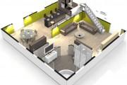 Фото 5 Дизайн-проекты квартир: готовые решения для идеального интерьера