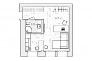 Фото 25 Дизайн-проекты квартир: готовые решения для идеального интерьера