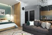 Фото 28 Дизайн-проекты квартир: готовые решения для идеального интерьера