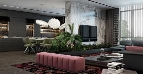 Дизайн-проекты квартир: готовые решения для идеального интерьера фото