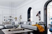 Фото 20 Интерьеры квартир в современном стиле: 45 универсальных идей оформления